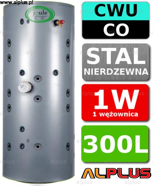 Ogromny JOULE 300L THERMALSTORE 2.0 SOLAR zbiornik spiro nierdzewka 1W 1 IQ14